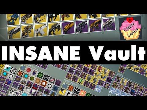 Destiny Vault | CAMMYCAKE'S VAULT EXPOSED!!!!11!1!!!