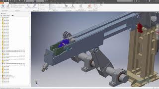 Динамические зависимости в Autodesk Inventor
