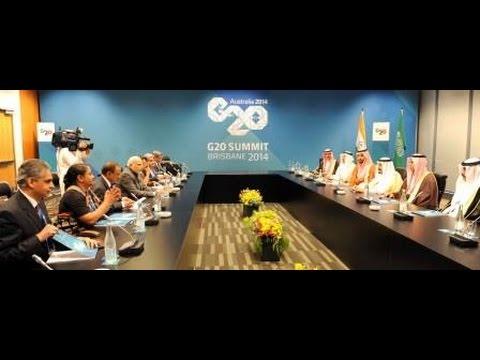 PM Modi meets Crown Prince & Deputy PM of Saudi, Arabia Salman Bin Abdulaziz Al Saud, in Brisbane