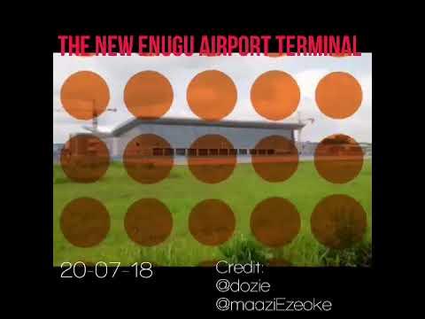 The New International Terminal At Enugu Airport