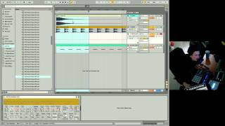 Ableton Live 9 Beginner Tutorial 04 - First Beat & Bass With Drum Rack, Sampler, MIDI & Effects