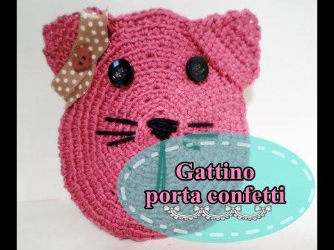 Gattino porta confetti - idea per bomboniera battesimo ...