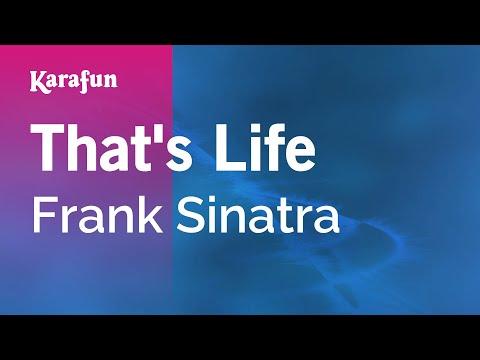 Karaoke That's Life - Frank Sinatra *