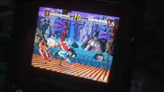 Neo-geo Mini Mvs Demo (mame Arcade Machine)
