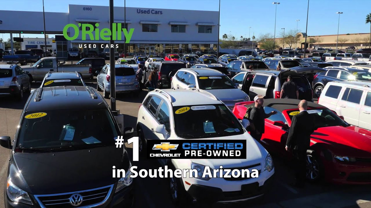 Get a Fresh Start (Pumping Life) At ORielly Chevrolet Tucson AZ Your