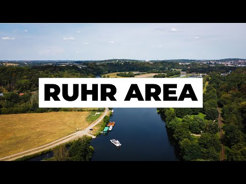 The green side of Germany's Ruhr Area