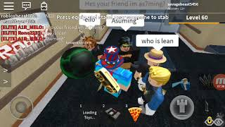 ROBLOX | LEANSLAYER420 ADERITO MIO GIOCO | MM2 SANDBOX