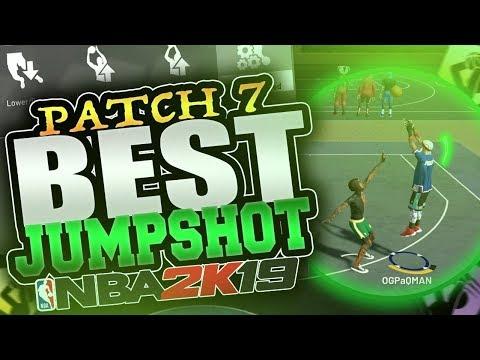 THE BEST JUMPSHOT on NBA2K19 AFTER PATCH 7!! NBA 2k19 BEST JUMPSHOTS!!