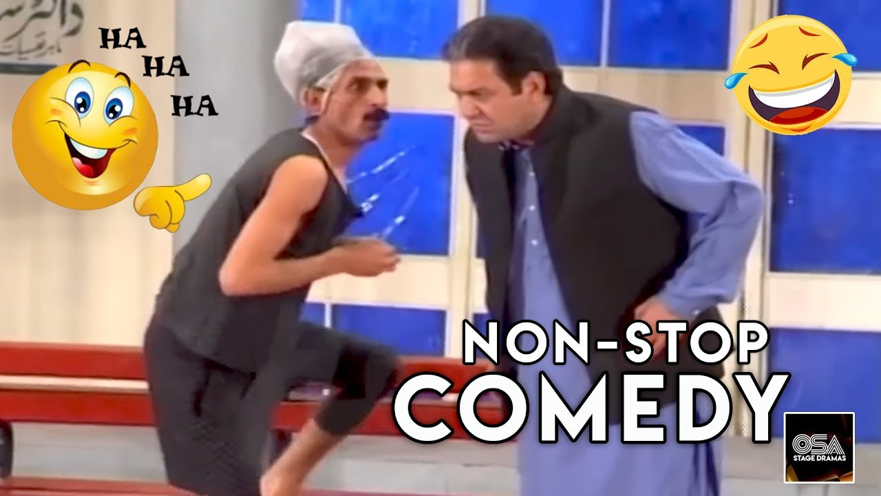 Best Comedy 2020.Iftikhar Thakur Sohail Ahmed Non Stop Comedy 2020 New Stage Drama Best Comedy Clip