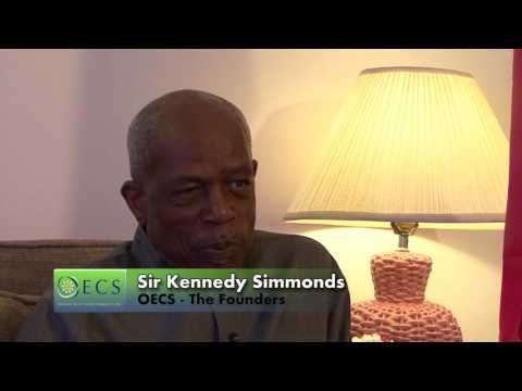 The Founders   Sir Kennedy Simmonds