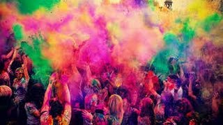 Holi Festival - Holi Celebrated Across Us || World Biggest Holi Festival Of Colors || Usa