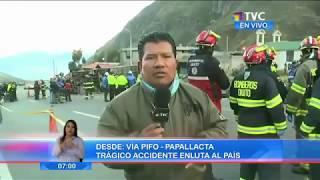 HINCHAS HASTA LA MUERTE!|12 BARCELONISTAS MUEREN EN ACCIDENTE EN LA VÍA CUENCA MOLLERTURO