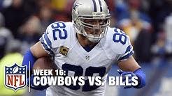 Jason Witten Sets Cowboys Consecutive Catch Record! | Cowboys vs. Bills | NFL