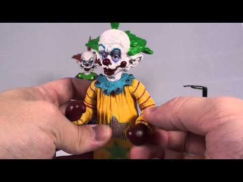 Turmoil in the Toybox - Amok Time Killer Klowns from Outer Space Figures