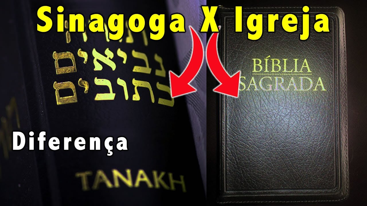 Você sabe a diferença entre o Sinagoga e Igreja? Como elas começaram? - Canal Alef