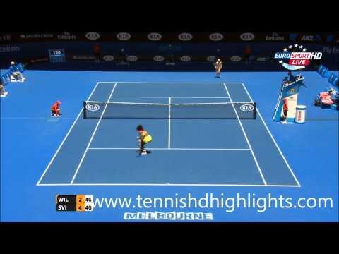 Serena Williams vs Elina Svitolina Highlights HD Australian Open 2015