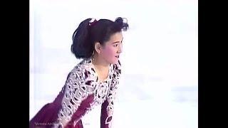 伊藤みどり  Midori Ito 1991/1992 Japan Nationals 全日本選手権