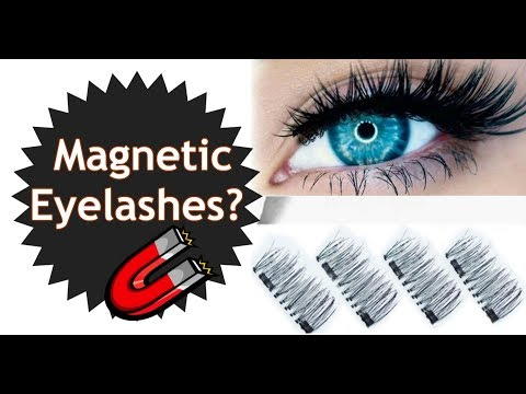 "Does This Thing Really Work? ""Magic"" Magnetic False Eyelashes on Mature Eyes 