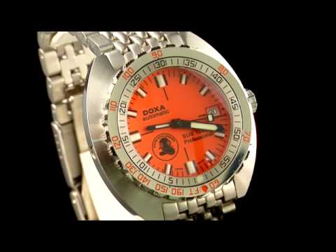 A limited Edition Automatic Doxa Sub 1200T Professional Bracelet Watch, Circa 2007 (Carl Spencer)