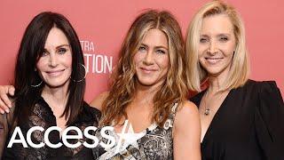 Jennifer Aniston Has Mini 'Friends' Reunion With Courteney Cox And Lisa Kudrow