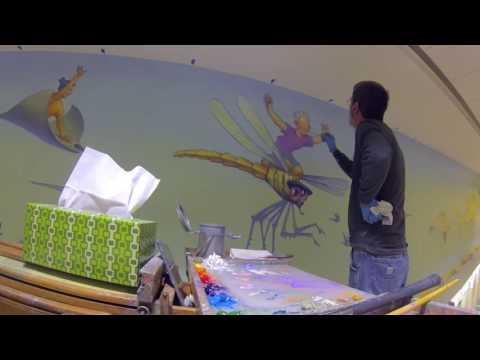 Joy Of Discovery Mural: Dragonfly