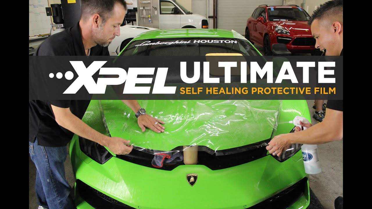 Huracan LP610-4 from Lamborghini Houston Protected with XPEL Clear Bra.