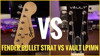 Fender Bullet Strat VS Vault LP1MN Review And Sound Test | Best Electric Guitar in ₹10000
