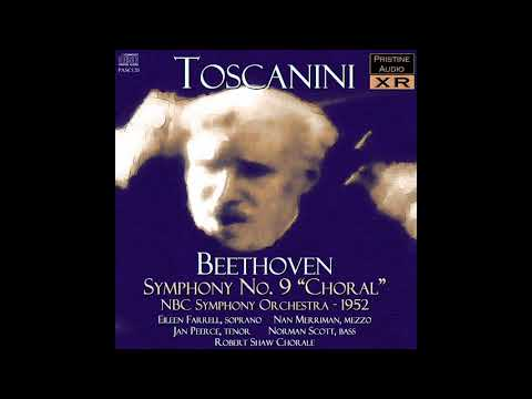 "Beethoven - Symphony No 9 ""Choral"" - Toscanini, NBCSO (1952)"