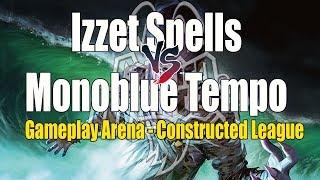 Izzet Spells X Monoblue Tempo - Magic Arena