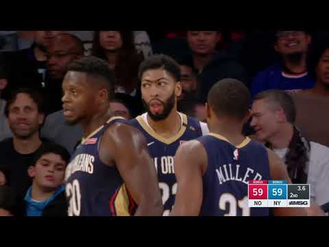 New Orleans Pelicans vs New York Knicks : November 23, 2018