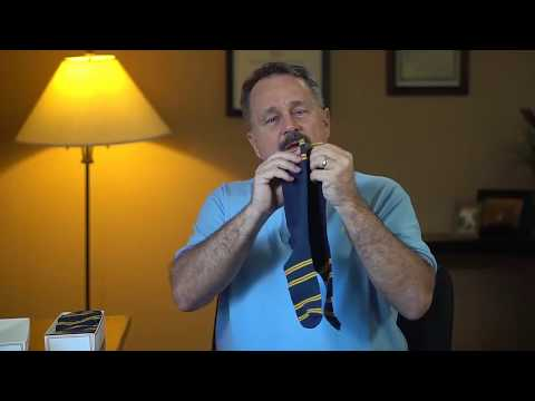 ZOM® Dress Socks - Smooth - Knee High - Blue - Commercial and Unboxing Review