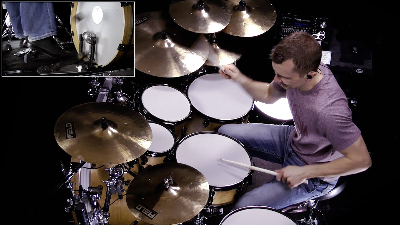 DRUM SOLO: Traditional Country EZX - Spector Kit Presets - YouTube