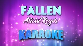 Fallen - Alicia Keyes (Karaoke version with Lyrics)