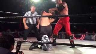 Jerry Lawler - Scott Steiner matchup from Wildfire Wrestling's Force of July show in Memphis TN.