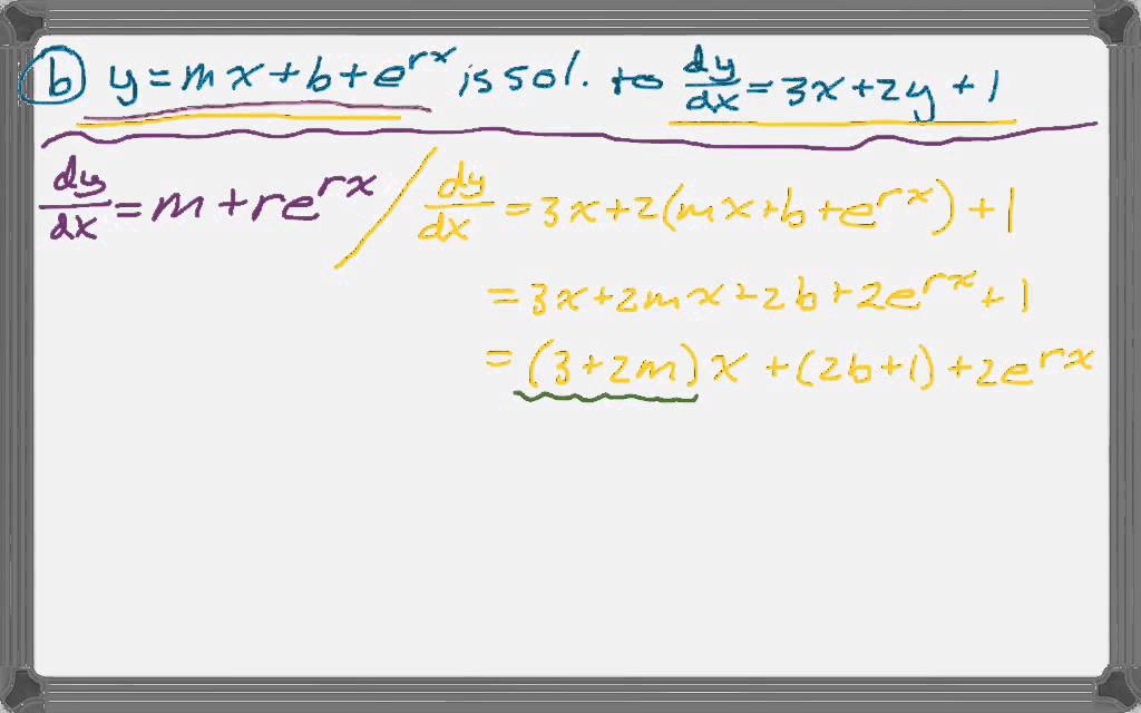 Calc BC 2007 (Form B) FRQ #5 - YouTube