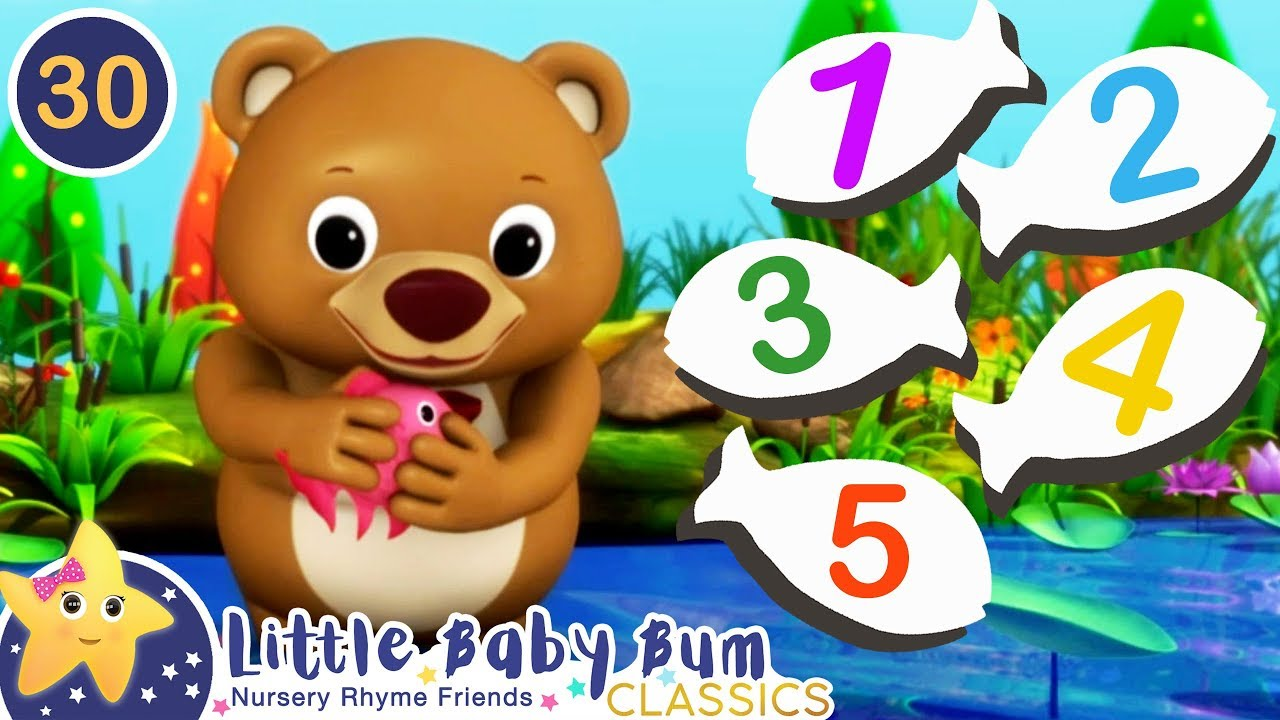 1, 2, 3, 4, 5! Once I Caught A Fish Alive! | Little Baby Bum Animal Club | Fun Songs for Kids - YouTube