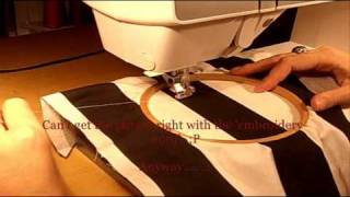 How To Do Free Hand Machine Embroidery