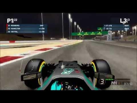 F1 2014 - Bahrain International Circuit | Bahrain Grand Prix Gameplay (PC HD) [1080p]