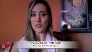 Curso Domine Twitter - Testimonio Catalina Valencia