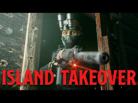 Solo Warlord Infiltrates Clan Island - Rust