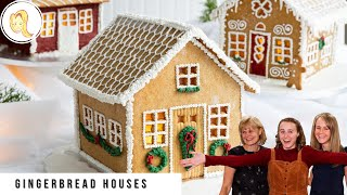 Gingerbread House Family Christmas Tradition  Recipe &amp Template