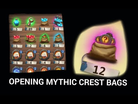 CC: Mythic Crest Bags X12