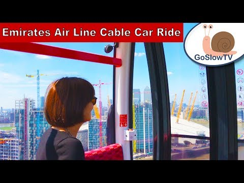 Emirates Air Line | Cable Car Ride | London Landmarks | London | Episode 3 | By GoSlowTV