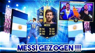 FIFA 19: MESSI im TOTY PACK OPENING GEZOGEN !!