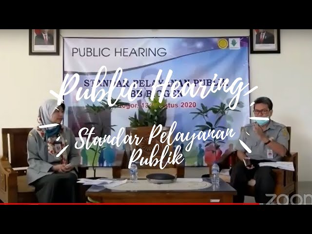 Public Hearing: Mengenal Jenis Pelayanan Publik BB Biogen