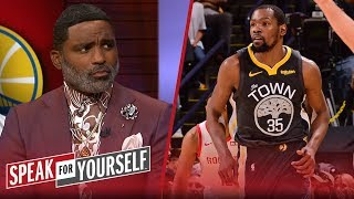 KD needs to be 'challenged' before comparing to LeBron - Cuttino Mobley | NBA | SPEAK FOR YOURSELF