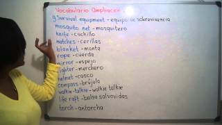 9. SURVIVAL EQUIPMENT - EQUIPO DE SOBREVIVENCIA