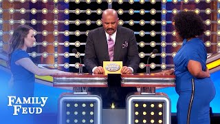This FABRIC makes a good STRIPPER NAME! | Family Feud