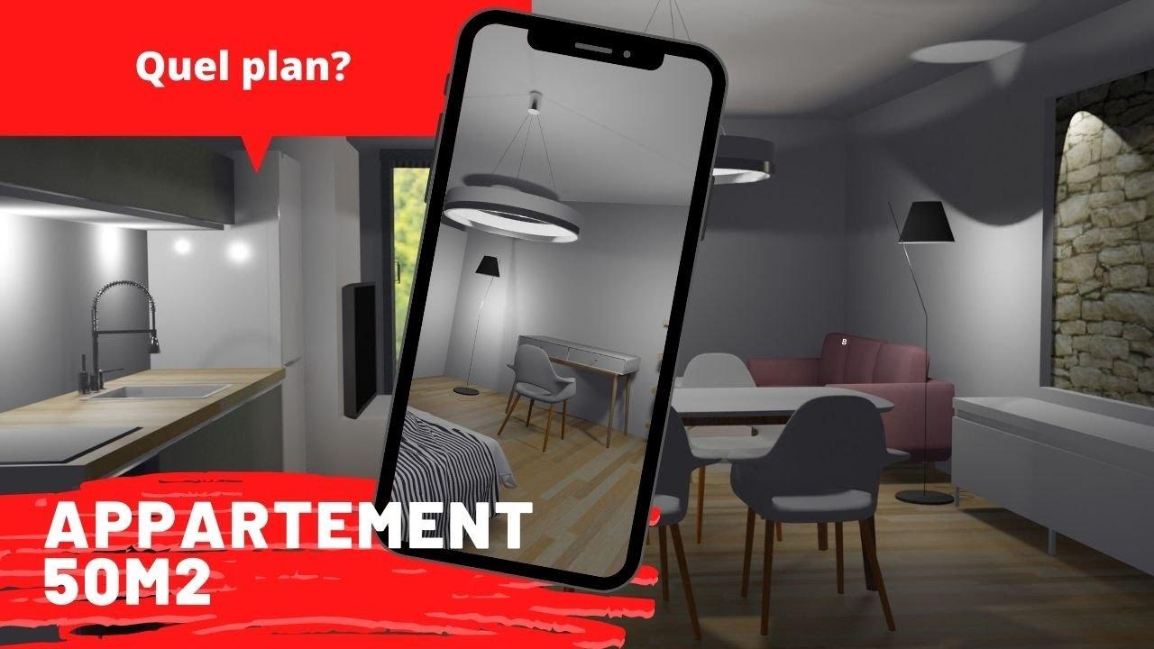 Un Plan Appartement 50m2 1 Chambre Exemple Conseils