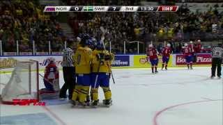 Norway v Sweden (0-10) - 2014 IIHF World Junior Championship